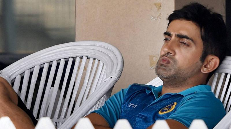 Gambhir was not picked for the 2007 World Cup in the West Indies and for a brief period contemplated quitting. (Photo: PTI)