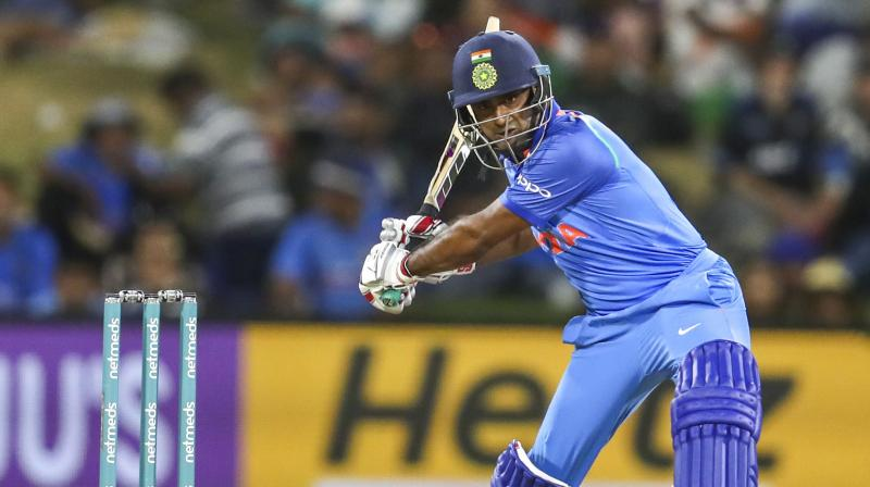 Disappointment knocked on Rayudu's door when his name was left out of the squad just a few months after captain Virat Kohli had more or less earmarked him for the number four position. (Photo: AP)
