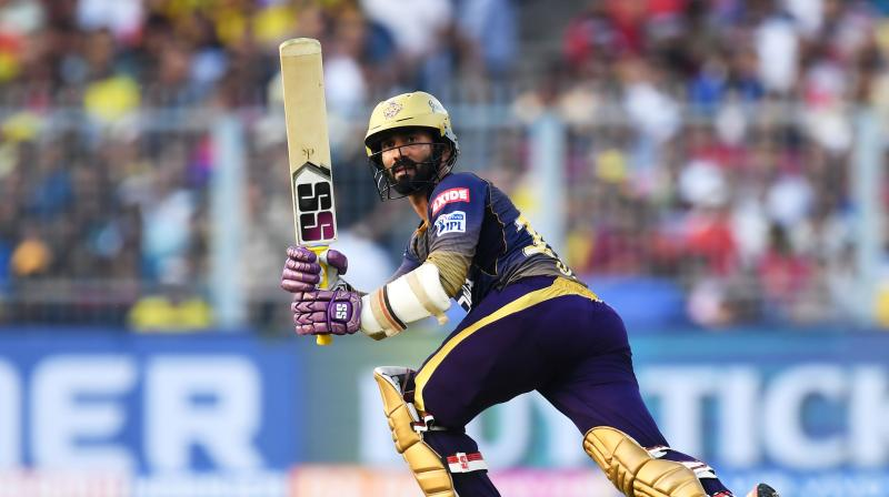 Since the IPL performances were not considered, Karthik said he could only get into the team on the basis of his performances for India. (Photo: AFP)