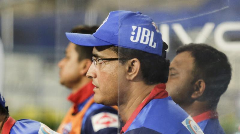 BCCI Ombudsman Justice (Retd) D K Jain has summoned Sourav Ganguly for a hearing on April 20 over an alleged conflict of interest situation arising out of his dual role as Cricket Association of Bengal president and Delhi Capitals advisor. (Photo: AP)