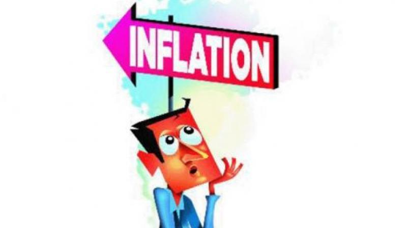 The year-on-year inflation based on CPI-IW stood at 5.11 per cent during the corresponding month of the previous year.