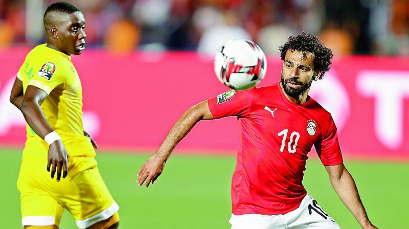 Egypt and Liverpool star Mohamed Salah has reignited heated views about a sexual harassment scandal involving his national team-mate Amr Warda in a CNN interview which aired Monday. (Photo: AP)