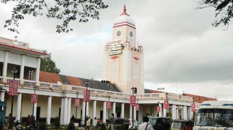 The Mysuru Railway station