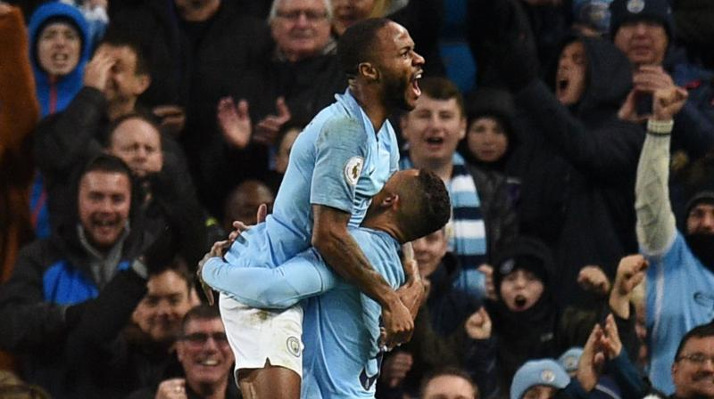 Manchester City forward Sterling said in December that newspapers were helping 'fuel racism' with their portrayal of young black players, highlighting how they were treated differently to young white players by the media. (Photo: AFP)