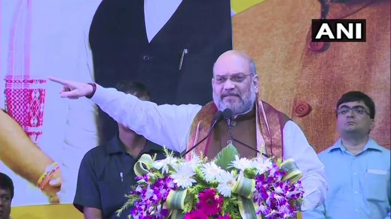 'I today want to assure Hindu, Sikh, Jain, Buddhist and Christian refugees, you will not be forced to leave India by the Centre. Don't believe rumours. Before NRC, we will bring Citizenship Amendment Bill, which will ensure these people get Indian citizenship,' Shah said. (Photo: ANI)