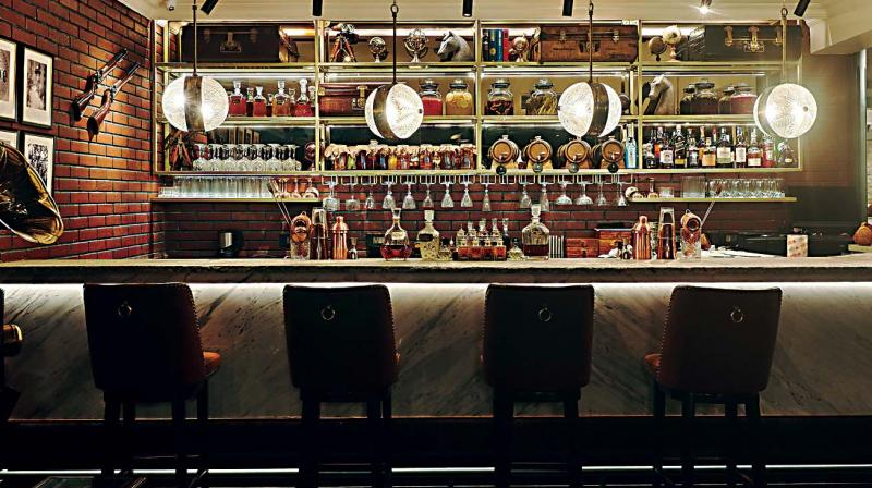 The glistening, full-fledged Oak Bar is not be missed with its impressive collection of malts, sakes, gins, wines and beers.