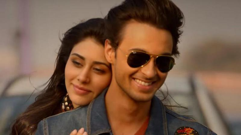 Still from the movie Loveyatri