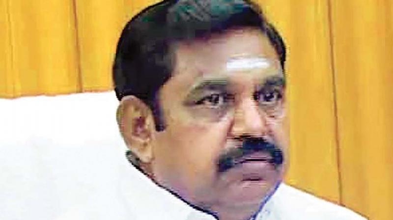 TN Chief Minister Edappadi K. Palaniswami.