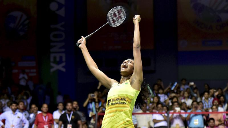 PV Sindhu rated India Open as one of the most important tournaments in her itinerary. (Photo: PTI)
