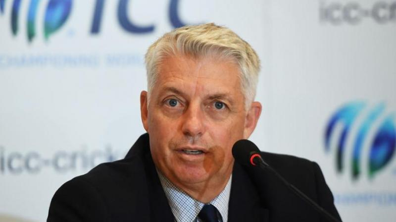 The ICC has been demanding unedited footage and GM (ACU) Alex Marshall said that Al Jazeera has not co-operated, something that Richardson reiterated. (Photo: AFP)