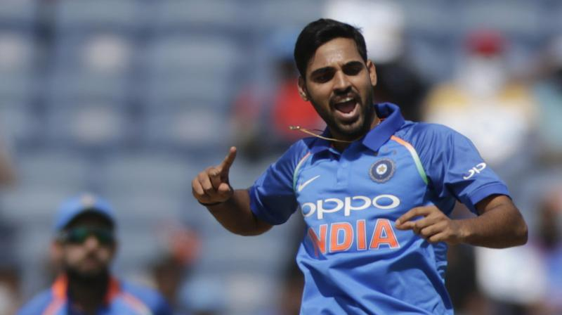 Maintaining the balance between swing and pace was not easy for Bhuvneshwar Kumar, who suddenly lost his natural ability to move the ball after adding extra pace. Now he has got his mojo back, courtesy India bowling coach Bharat Arun. (Photo: AP)