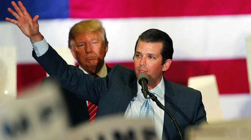 Trump Jr's appearance on Wednesday came amid mounting criticism of the Russia probes by some of his father's fellow Republicans in Congress. (Photo: AP)
