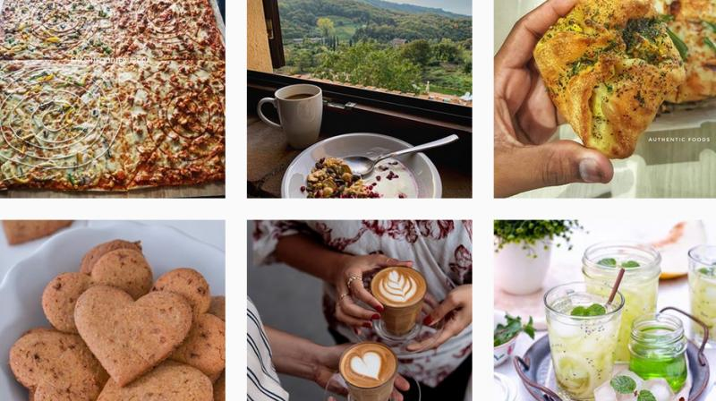 Instagram feeds of food bloggers are filled with photogenic dishes. (Photo: Instagram)