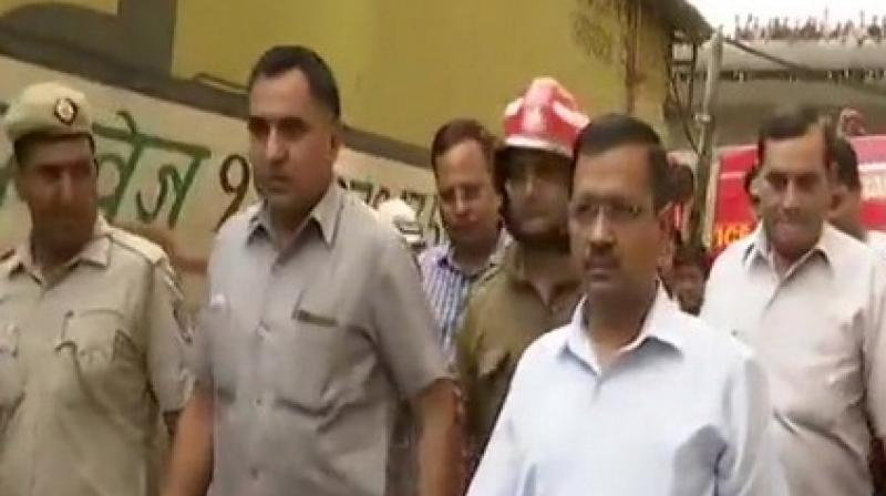 Meanwhile, the rescue operation has been concluded. The Fire Department is engaged in cooling down the building. (Photo: ANI)