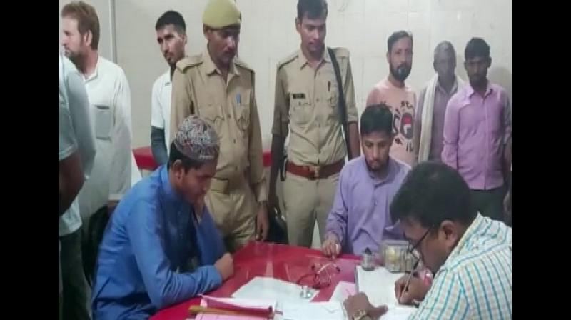 The police said that the victims had an argument with a group of four youths who were sitting in the Madrasa premises during a cricket match on Friday. (Photo: ANI)