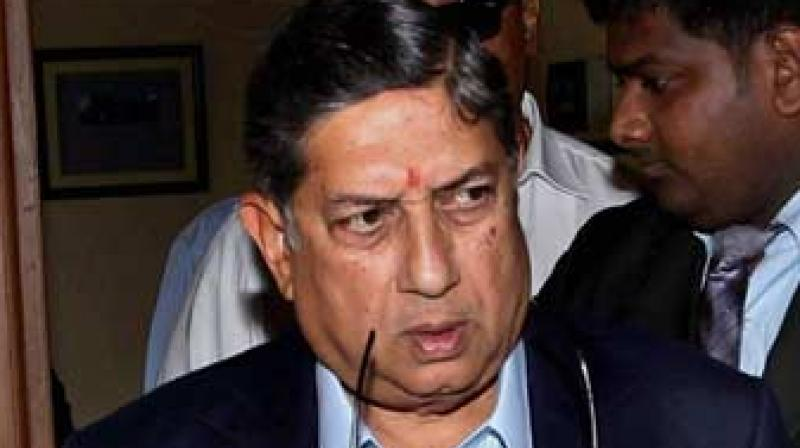 The two hour and 45 minute long Special General Meeting, attended by controversial former BCCI president N Srinivasan, did not take any decisive call as requested by the Committee of Administrators (COA) during a meeting with state units yesterday.(Photo: PTI)
