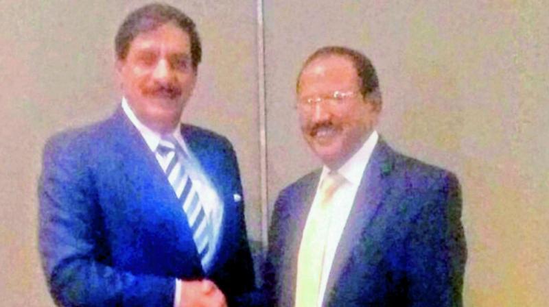 MEA confirms Doval-Janjua secret talks post Jadhav-family meet