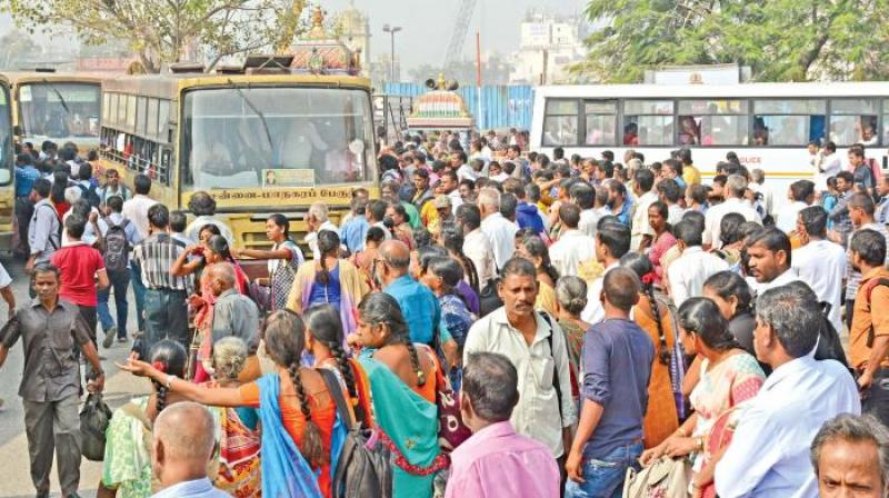 8 day strike by Tamil Nadu transport workers 'temporarily' called off