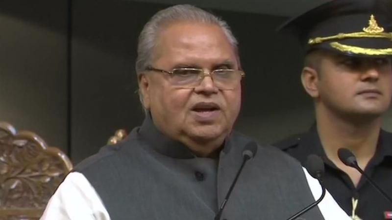 The Governor expressed satisfaction over security management in the past year, despite continuing challenges on many fronts.  (Photo: ANI Twitter)