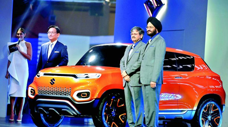 Auto Expo 2018: Maruti Suzuki Showcases e-Survivor Concept at Expo
