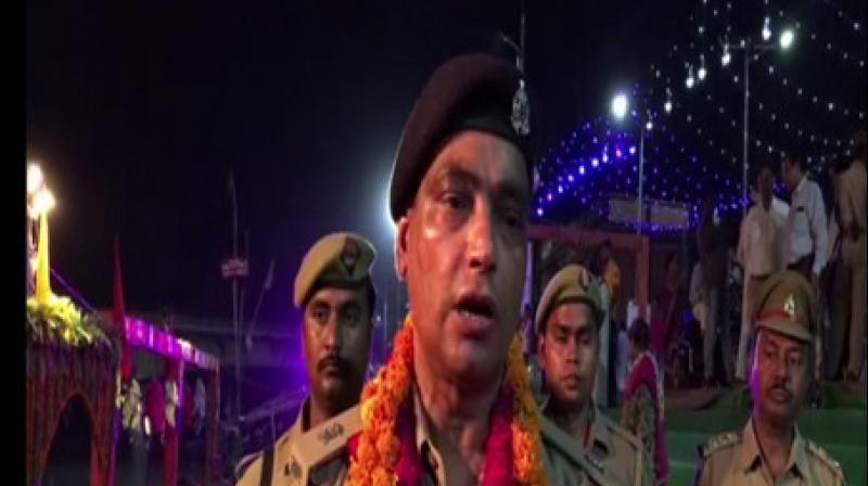 Anil Kumar Sisodia, Ayodhya Superintendent of Police (Photo: ANI)
