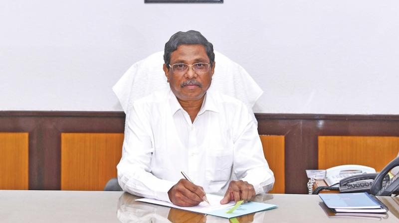 Tamil Nadu chief secretary K. Shanmugam