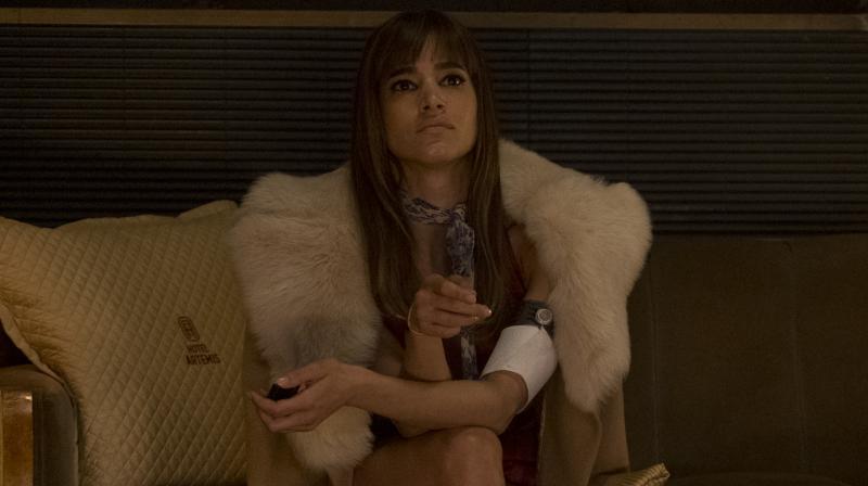 Sofia Boutella In The Still From Hotel Artemis