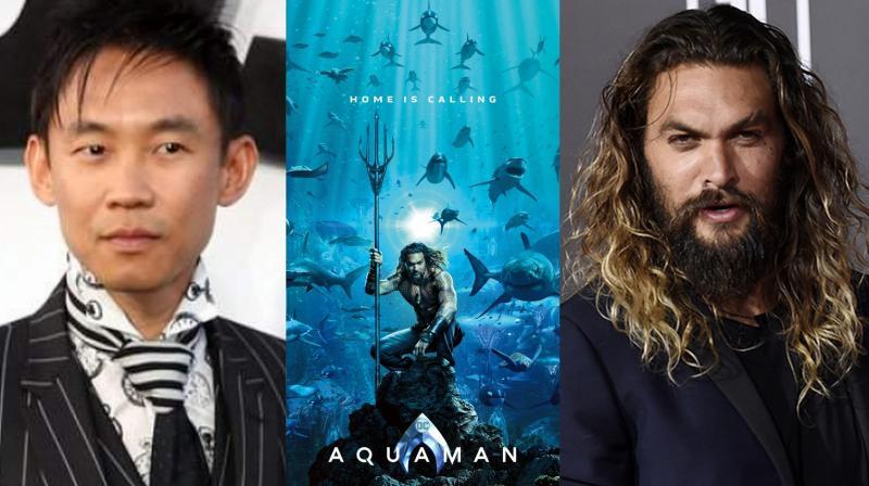 'Aquaman' stars Jason Momoa in the lead.