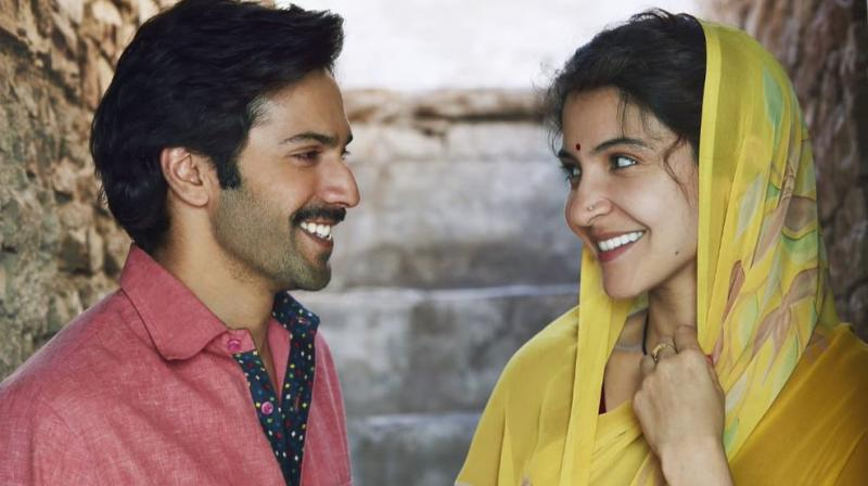 Varun Dhawan and Anushka Sharma in 'Sui Dhaaga'.