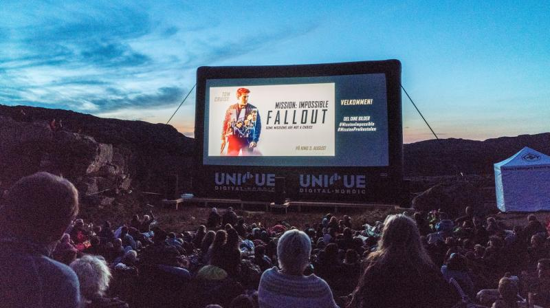 Death-defying mountain top screening for 'Mission: Impossible - Fallout'