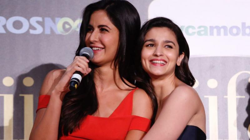 Alia Bhatt and Katrina Kaif.