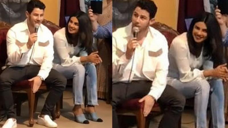 Video Priyanka Looks Lovingly At Nick As He Sings Lovebug For Kids At Orphanage