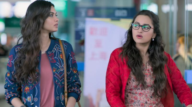 This film is a sequel to Happy Bhag Jayegi (2016). (YouTube Screengrab/ Eros)