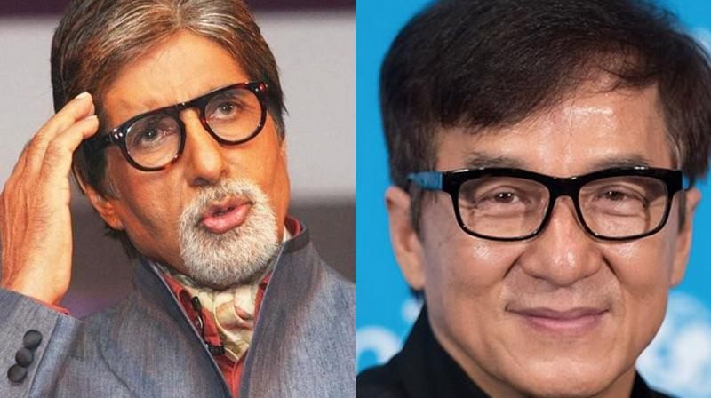 Amitabh Bachchan and Jackie Chan.