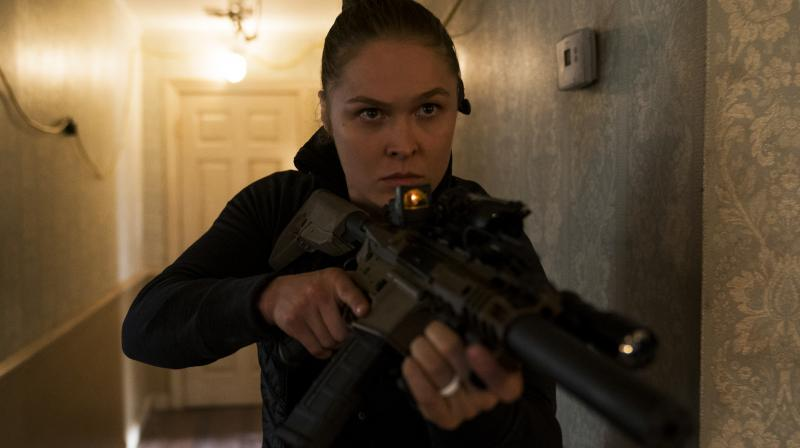 Ronda Rousey in the MIle 22.