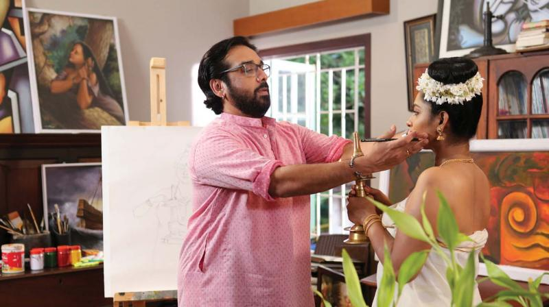 The shooting of Madhaveeyam took place in Kozhikode and has wrapped up in October.