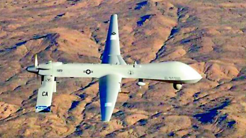 Drone fell in Doklam: China