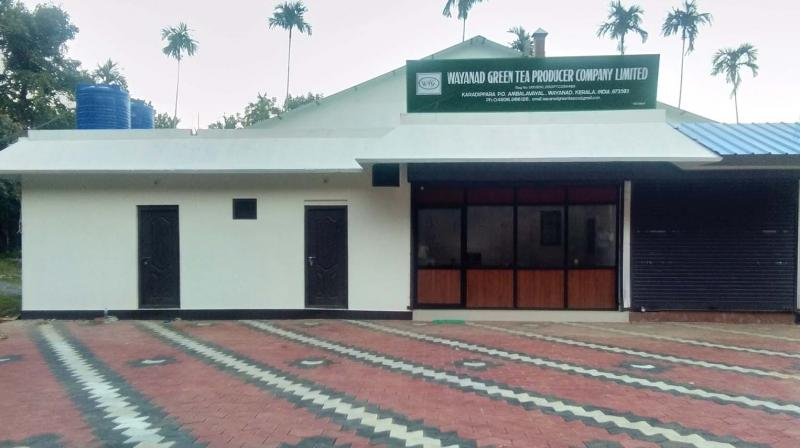 The new factory at Karadippara