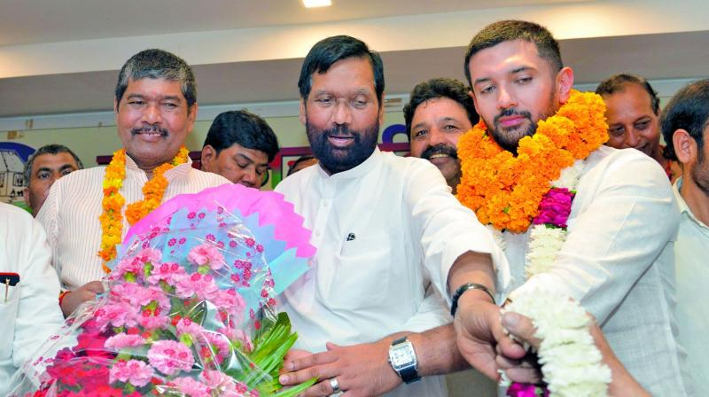 Ram Vilas Paswan Names His Son As Ljp S Bihar Unit Chief