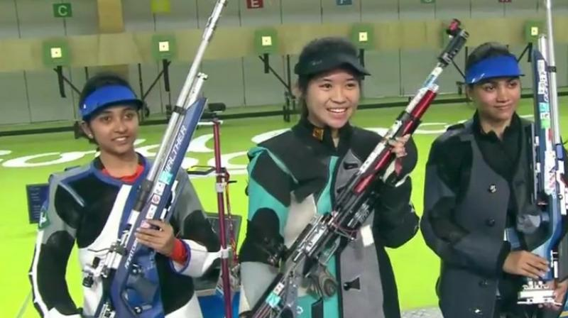 Shooters Apurvi, Mehuli enter CWG final