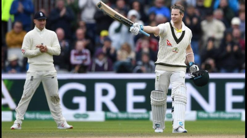 Steve Smith's unorthodox batting technique is not something a purist will advocate to budding players, but his monstrous run-scoring ability might force coaching manuals to be rewritten, former Australia cricketer Adam Gilchrist has said. (Photo: Sachin Tendulkar/Twitter)