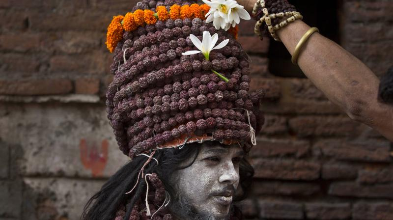 Hundreds of Hindu holy men perform rituals at the temple for the four day long festival. This mela is also known as Ameti or Tantric fertility festival since it is closely associated with Tantric Shakti cult prevalent in eastern parts of India.