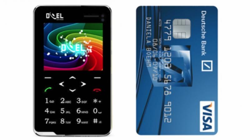 The Doel Card ET 106 can also be clubbed along with your existing smartphone to make and receive calls like a Bluetooth handsfree unit.