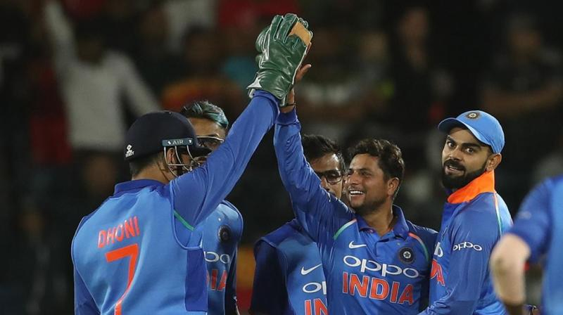 "It's a history and the guys have worked hard for it. Ever since the third Test in Johannesburg, it's been a good time for us. It's been a collective effort to create history,"" Virat Kohli said after India won the fifth ODI of the six-match series against South Africa in Port Elizabeth. (Photo: BCCI)"