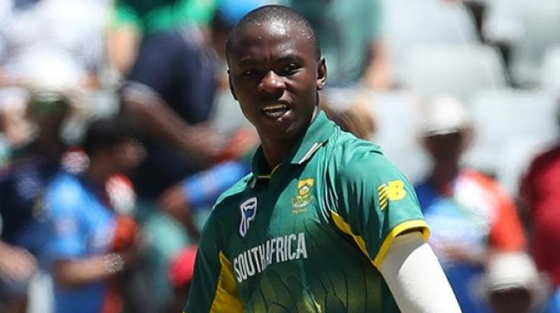 """Kagiso Rabada has been fined 15 per cent of his match fee and received one demerit point after being found guilty of a Level 1 breach of the ICC Code of Conduct for Players and Player Support Personnel during Tuesday's ODI against India in Port Elizabeth,"" said ICC. (Photo: BCCI)"