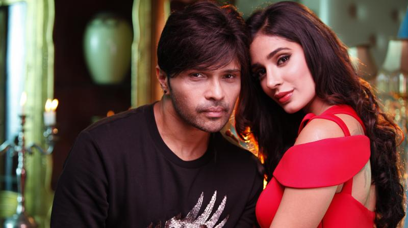 Himesh Reshammiya and famous TV star Alankrita Sahai feature in the music video of 'Aap Se Mausiiquii'.