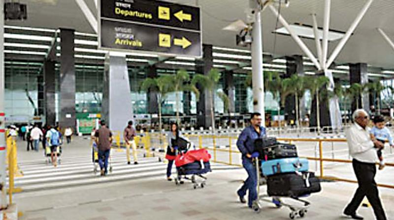 With nearly 55,000 passengers departing from Bengaluru Airport on a daily basis, this dedicated gate promises to improve throughput and reduce waiting time at the security check point.