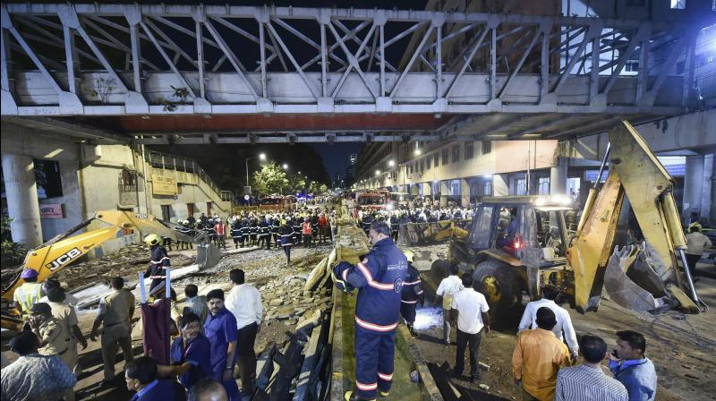 A case has been registered against officials of Central Railway and the BMC in connection with the incident. (Photo:AP)