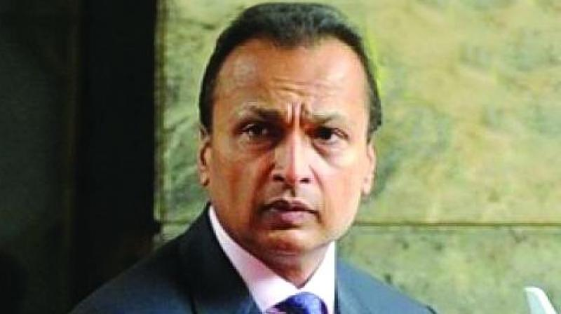 Billionaire industrialist Anil Ambani resigned as Director of Reliance Communications.