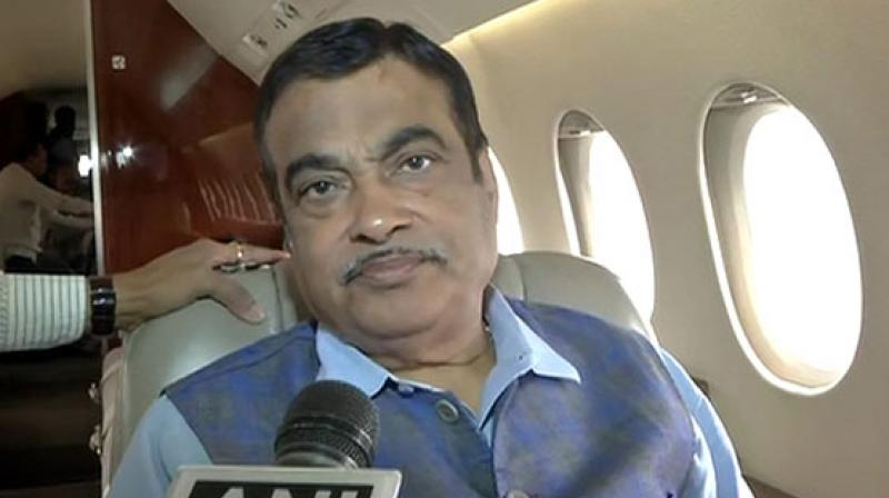 Union Minister Nitin Gadkari, who is looking after the Ministry of Road Transport and Highways along with Ministry of Micro, Small and Medium Enterprises, said that alternative sources of funding should be harnessed. (Photo: ANI)